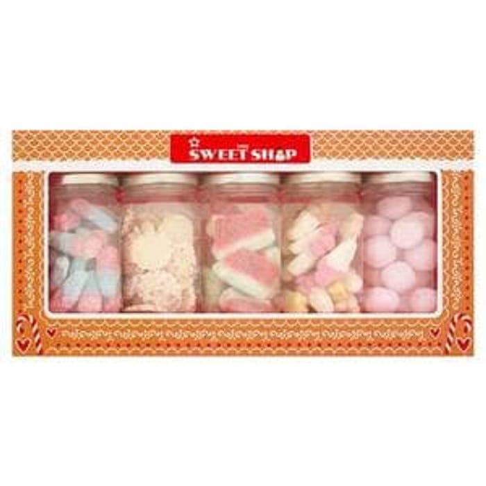 Superdrug Sweet Shop Mini Sweet Jars X5