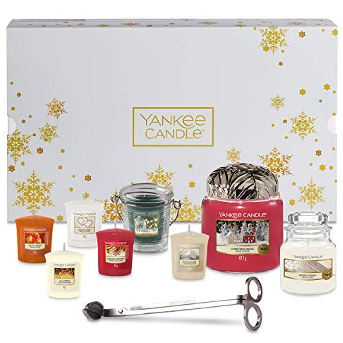 Yankee Candle 8 Scented Candles - 11-Piece Candle Set