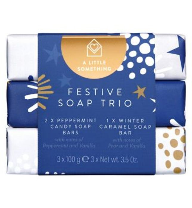 A Little Something Festive Soap Trio