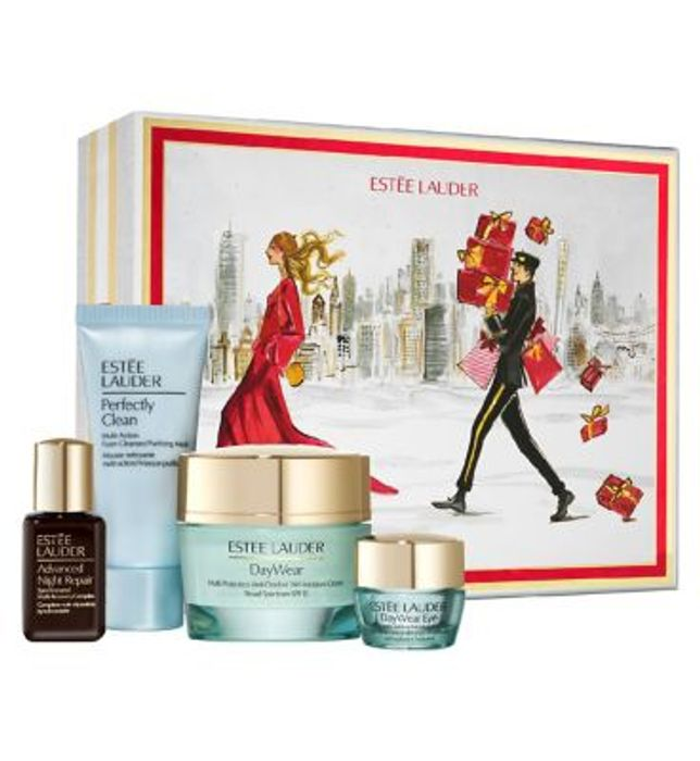 Este Lauder Protect & Hydrate Skincare Collection Gift Set