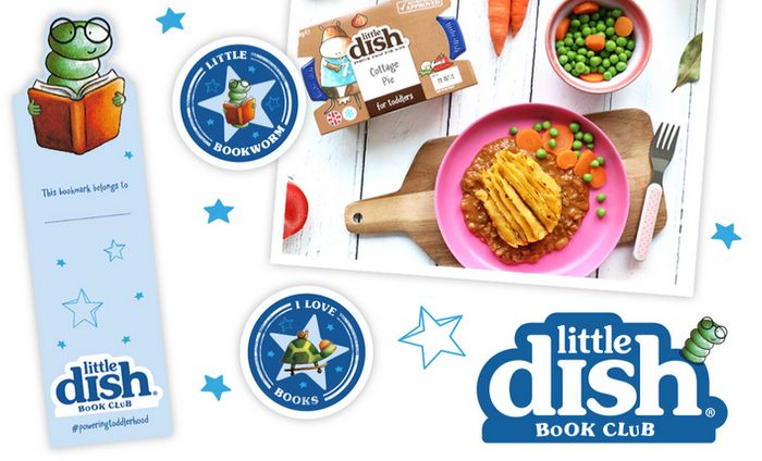 Free Bookmark and Stickers When You Join LittleDish Book Club