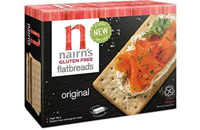 Nairns Original Flatbread Gluten Free, 150 G, Pack of 6