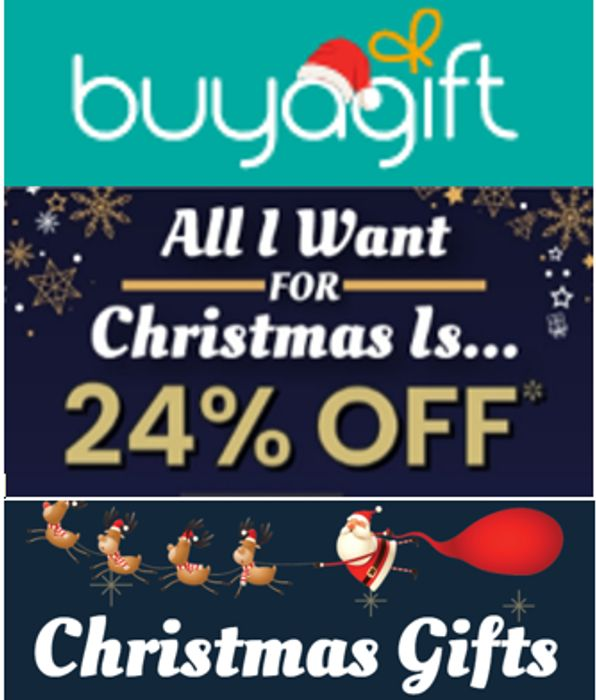 BUY A GIFT - BLACK FRIDAY DEALS - PLUS EXTRA 24% OFF