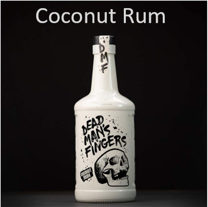 Dead Man's Fingers Coconut Rum + Free Delivery with Prime