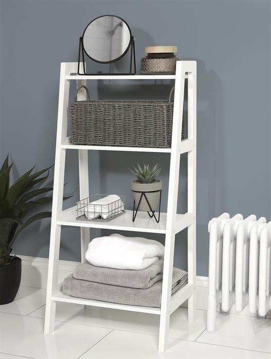 4 Tier Ladder Style Shelves