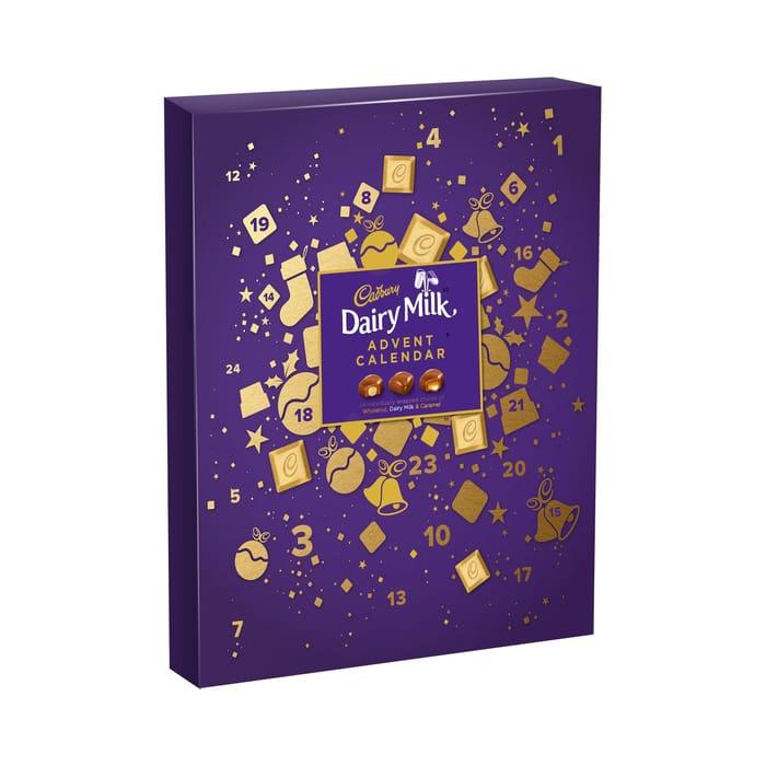 Cadbury - Dairy Milk Chocolate Advent Calendar 258g