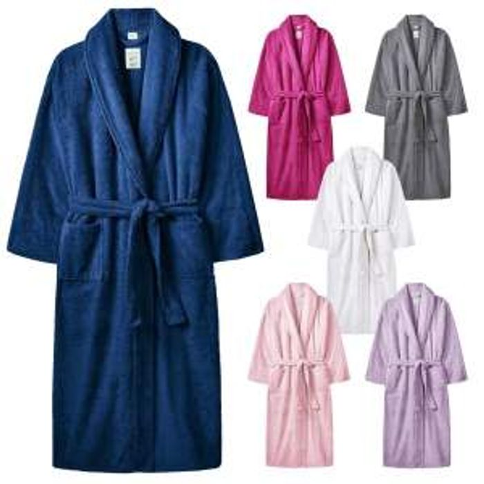 Adults Terry Towelling Dressing Gown Free Del.
