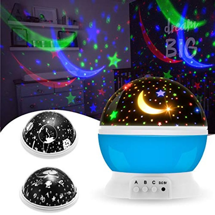 Half Price! 16 Colorful Modes Night Light Star Projector