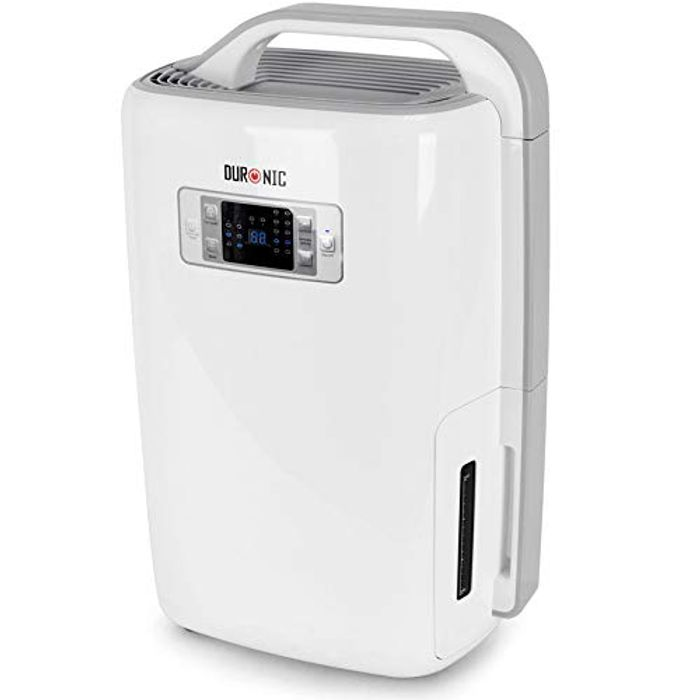 Duronic Dehumidifier DH20 | 20L in a Day | 4L Tank Capacity