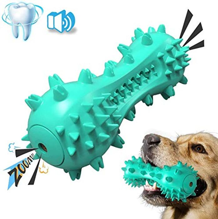 STAJOY Dog Toys Squeaky for Teeth Cleaning  (Code & 5% Voucher)