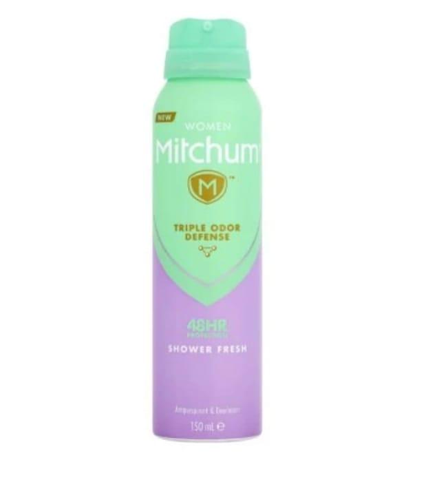Mitchum Shower Fresh Antiperspirant Deodorant 150ml