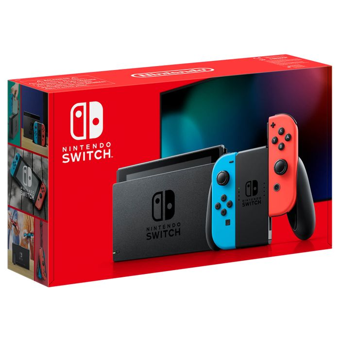 *SAVE £40* Nintendo Switch Console - Neon