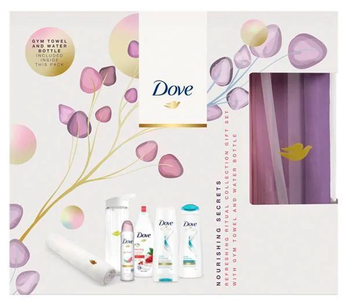 Dove Nourishing Secrets Refreshing Ritual Gym Ready Gift Set HALF PRICE