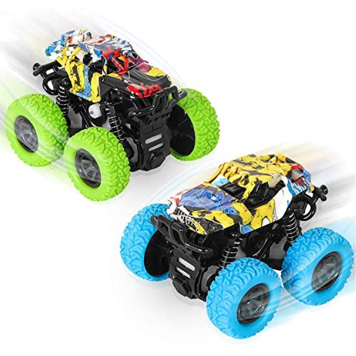 Sanlinkee Monster Trucks Toys with £5 off Coupon