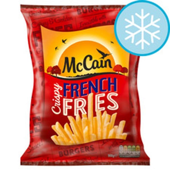 Mccain Crispy French Fries / Mccain Hash Browns 37%off (Clubcard) at Tesco