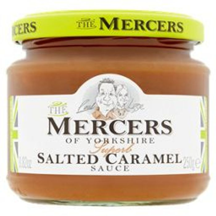 The Mercers of Yorkshire Salted Caramel Sauce with 50% Discount!