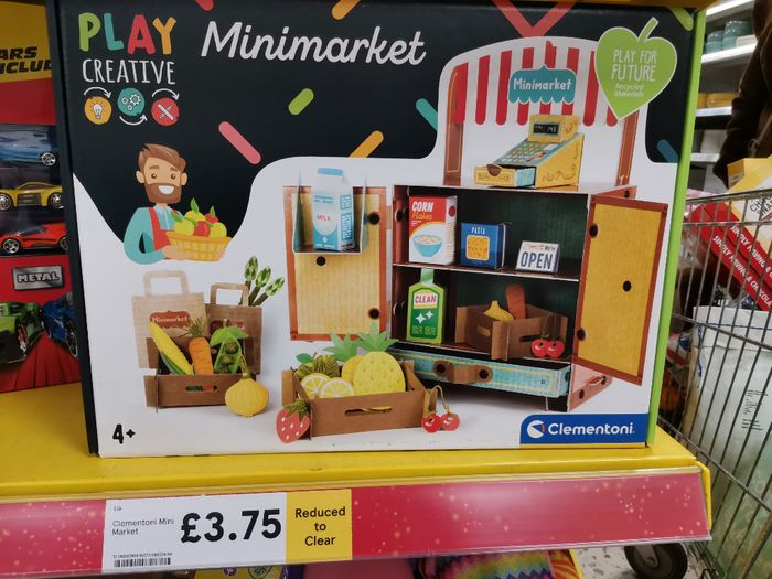 Kids Grocery Stall Toy