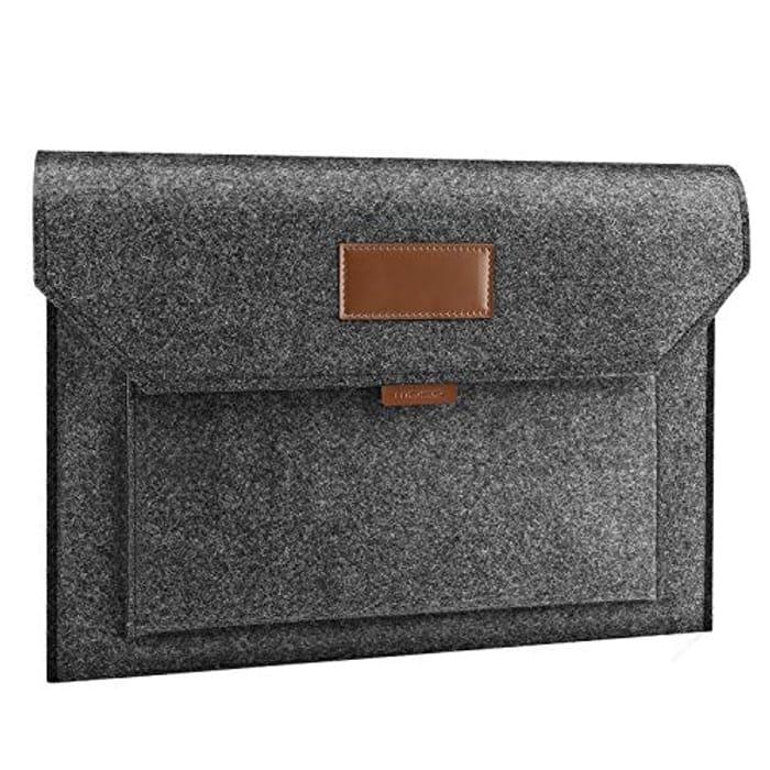 Price Drop! MoKo 15.6 Inch Felt Laptop Sleeve Case Bag