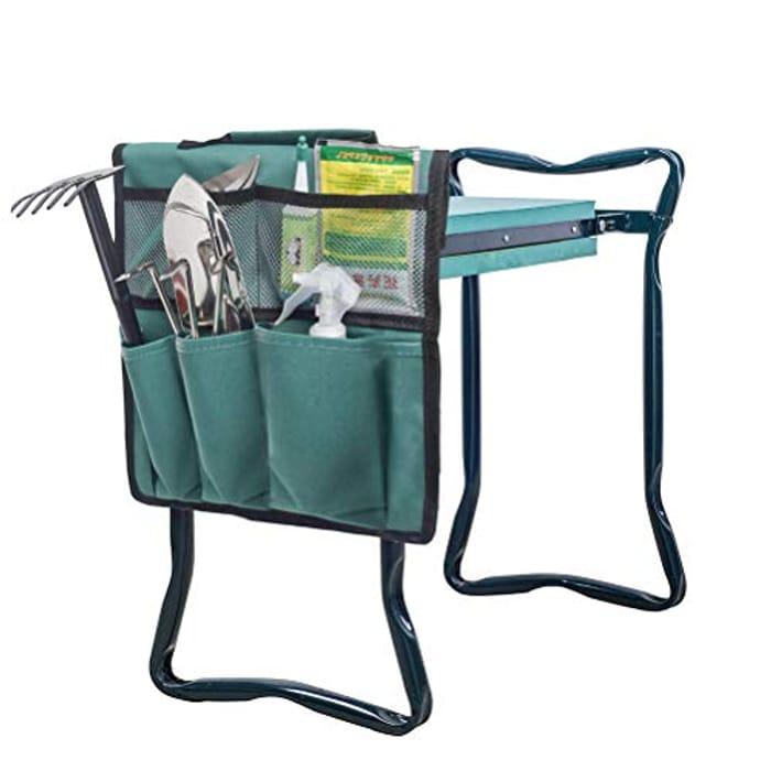 Garden Tool Bag, Garden Kneeler Tool Bag with £5 off Coupon