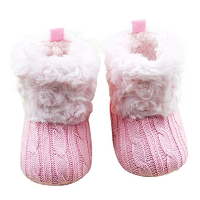 Baby Knitted Boots - Only £7.58!