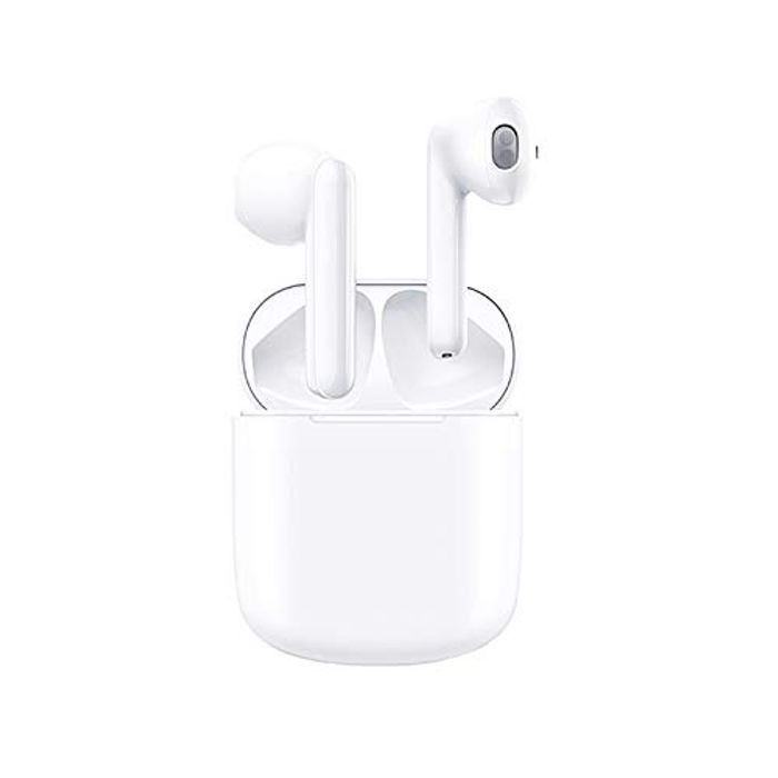 Bluetooth 5.0 Earbuds with Charging Case at Amazon