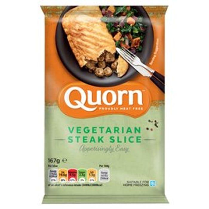 Quorn Vegetarian Steak Slice 167g