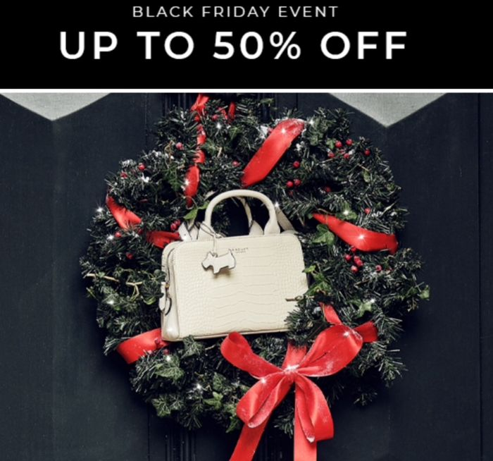 Up to 50% off handbags, purses and accessories