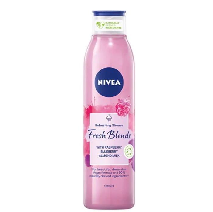 NIVEA Fresh Blends Raspberry & Blueberry Shower Gel 300ml