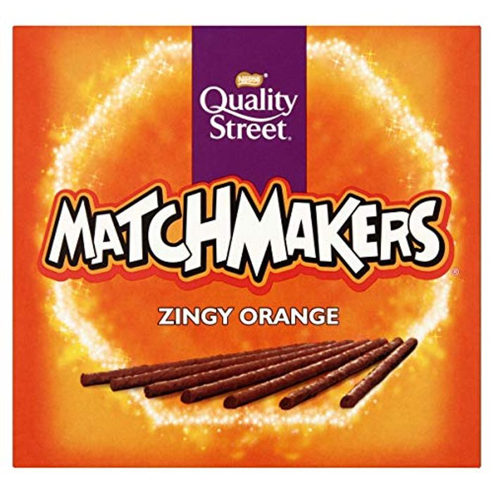Quality Street Matchmakers Zingy Orange Chocolates, 120g-Only £1