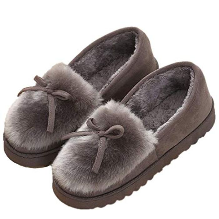 DEAL STACK - Kemosen Women Faux Fur House Slippers + 5% Coupon
