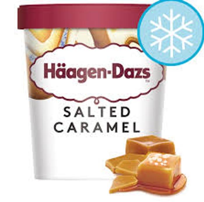 Haagen-Dazs Salted Caramel Ice Cream 460Ml - Only £2.5!