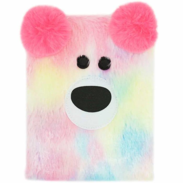Happy Zoo Plush Notebook - Bear