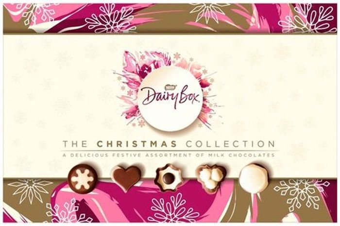 Dairy Box Christmas Milk Chocolate Assortment 388G - Clubcard Price