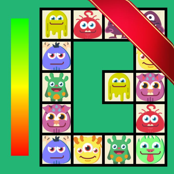 Connect: Cute Monsters and Food Game - Usually £0.79