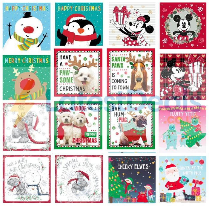 25% off - Christmas Card 20 Packs - 5 Different Sets