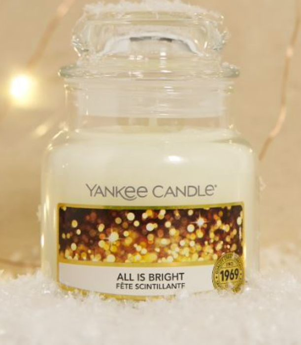 FREE All is Bright Yankee Candle plus Free Delivery!