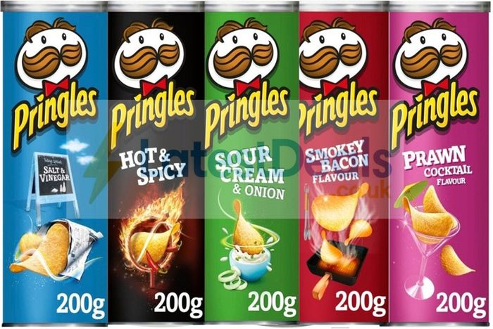 Pringles All Flavours Half Price at Morrisons