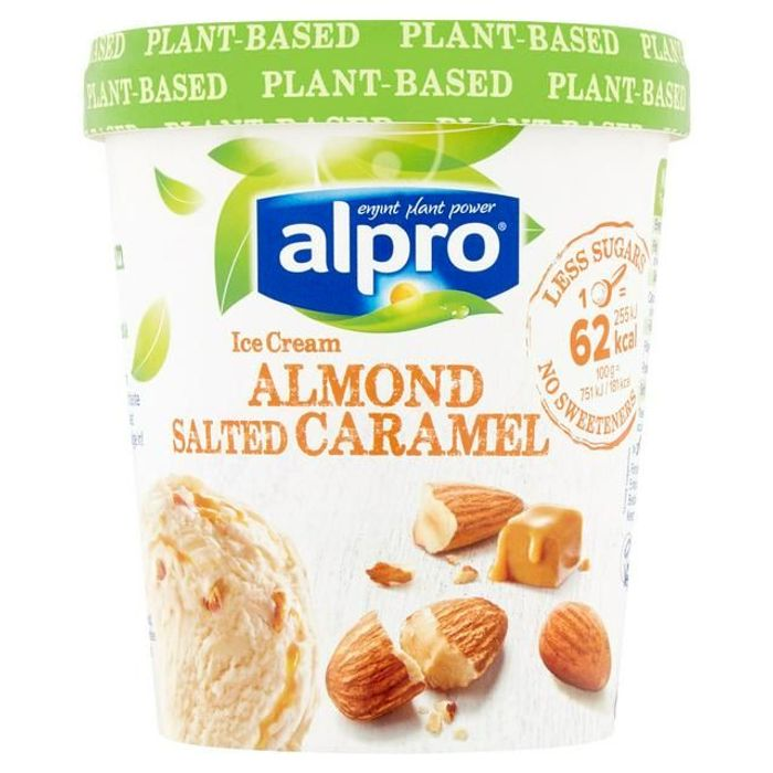 Cheap Alpro Almond Salted Caramel Ice Cream 500ml - Only £2.5!