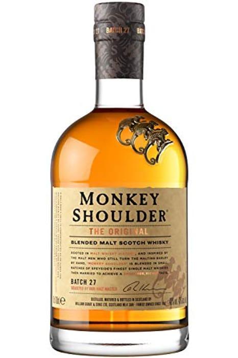 Monkey Shoulder Whisky at Amazon