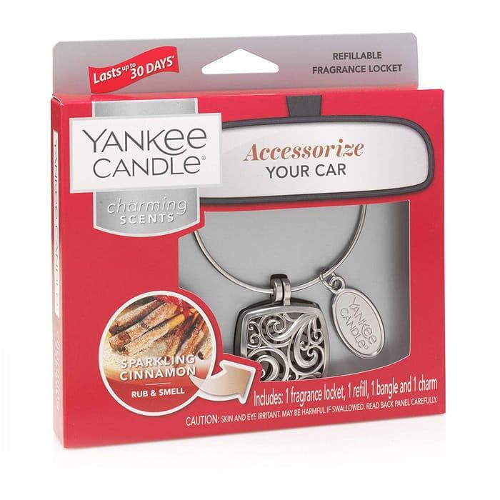 Best Price! Yankee Candle Scented Car Air Freshener Locket
