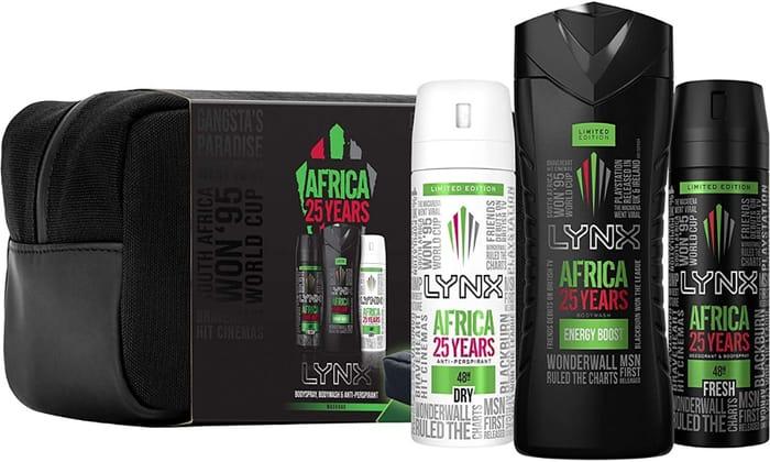 Lynx Africa, Wash Bag Gift Set - PRICE DROP