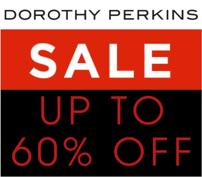 Dorothy Perkins SALE - up to 60% Off