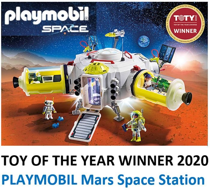 CHRISTMAS 2020 TOP TOY - PLAYMOBIL - Mars Space Station (9487)