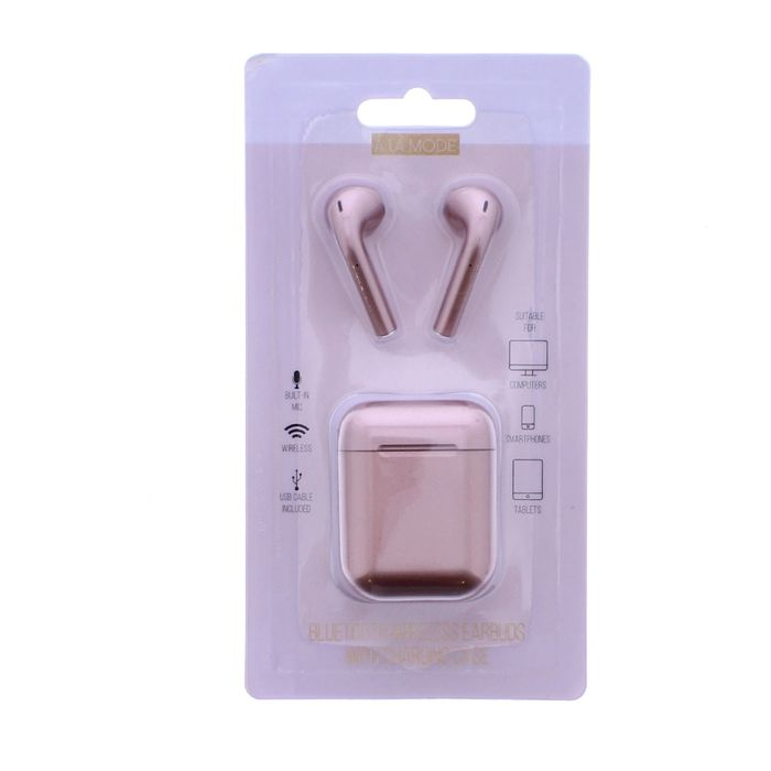 A La Mode Bluetooth Wireless Earbuds with Charging Case