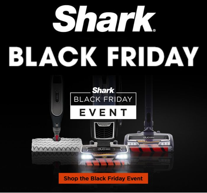Shark Vacuum - Black Friday Deals - ARE NOW LIVE