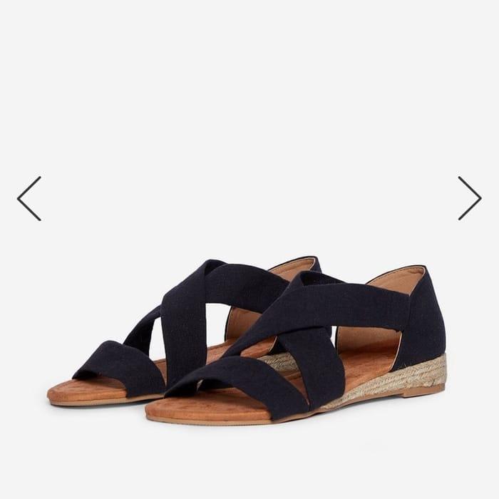 Black Sandals - DP