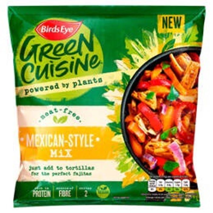 Birds Eye Green Cuisine Meat Free Mexican Style Mix
