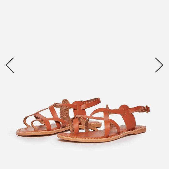 Tan Sandals from DP