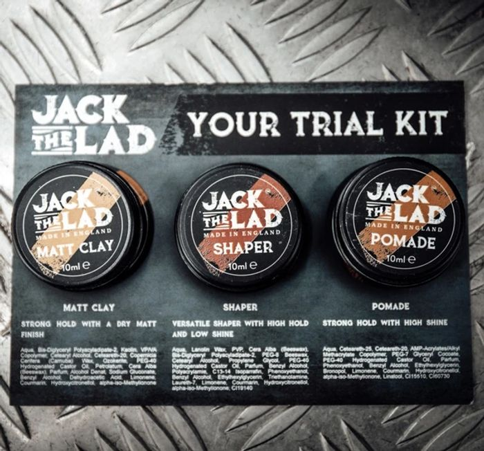 Free Trial Kit - Mens Hair Styling Products