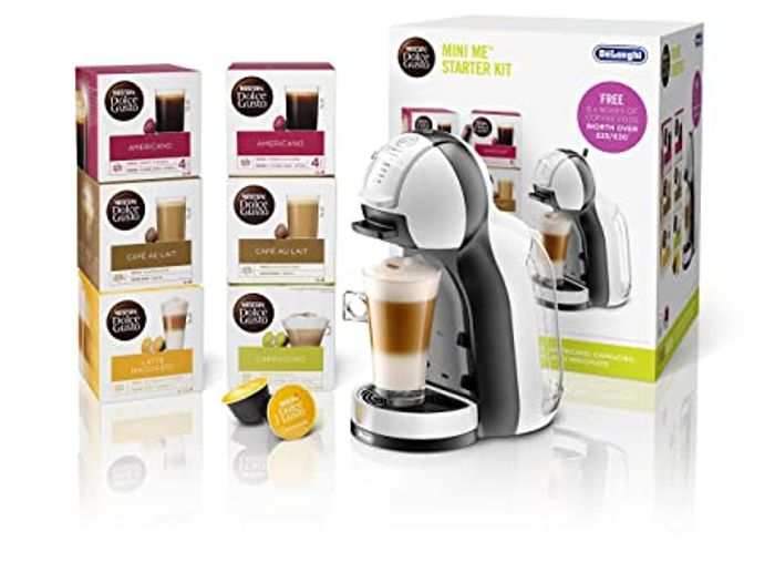 NESCAFE Dolce Gusto Mini Me Automatic Coffee Machine - Only £35!